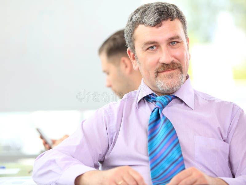 Successful mature business man