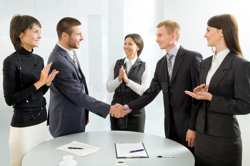 Download Successful negotiations stock image. Image of communication - 11620503