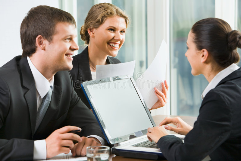 Download Successful negotiations stock photo. Image of attitude - 2964338