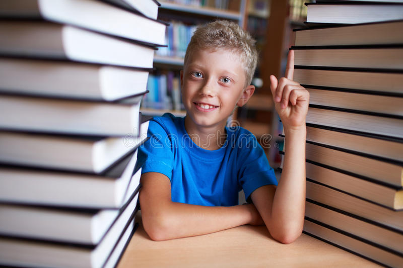 Successful pupil stock photography