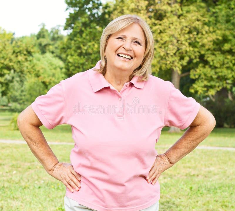 Download Successful senior woman stock image. Image of retiremant - 21128887