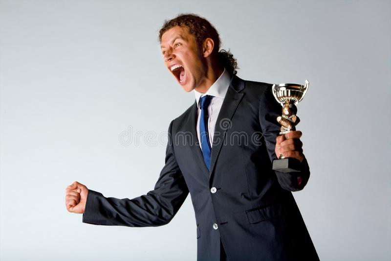 Successful Sportsman Stock Photography