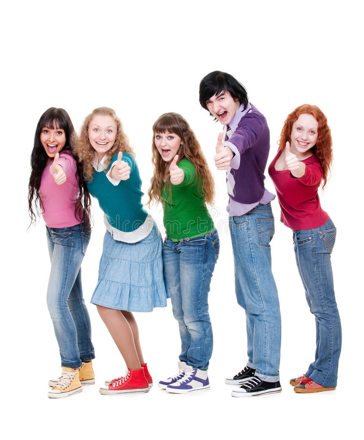 Download Successful students stock photo. Image of friends, portrait - 14021110