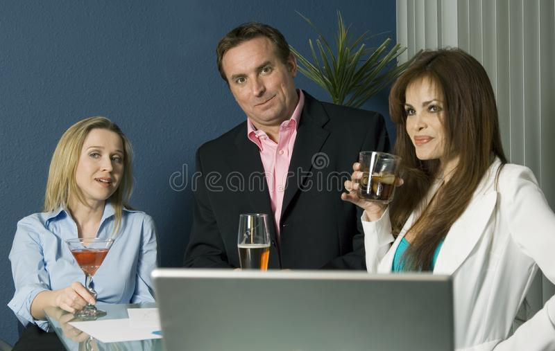 Successful team royalty free stock photos