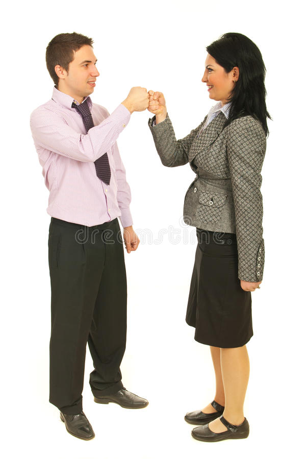 Free Successful Teamwork Fist In Fist Royalty Free Stock Photo - 23605495