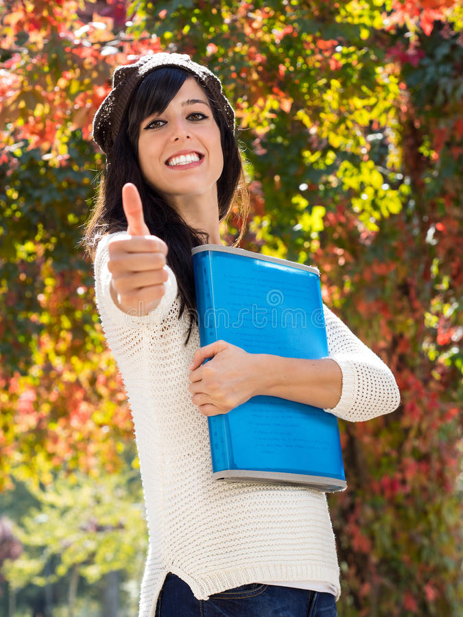 Download Successful teen student stock image. Image of beautiful - 26900009