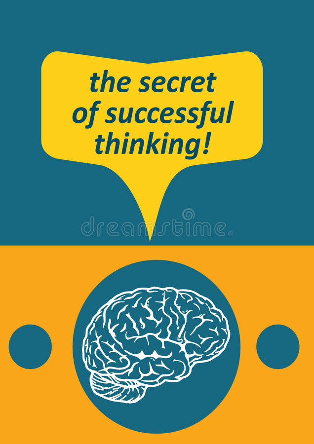 Download Successful thinking stock vector. Image of ideas, dream - 23701094