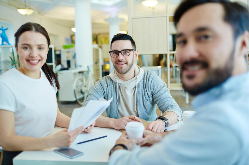 Successful Young Business Team royalty free stock photography
