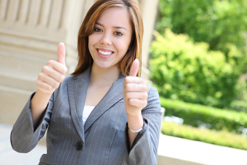 Download Successful Young Businesswoman Stock Photo - Image of professional, half: 5791638
