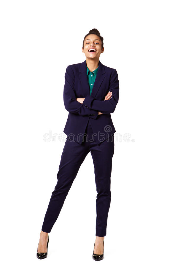 Successful young female business executive stock images