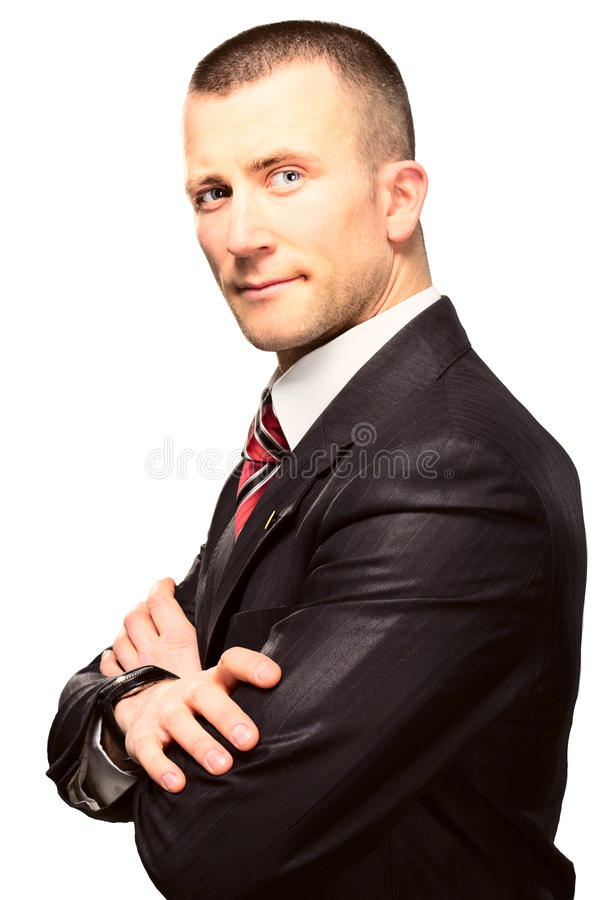 Download Successful Young Man Businessman In Suit Stock Photo - Image: 23397446