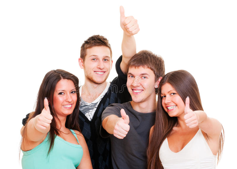 Successful Young People Royalty Free Stock Photography