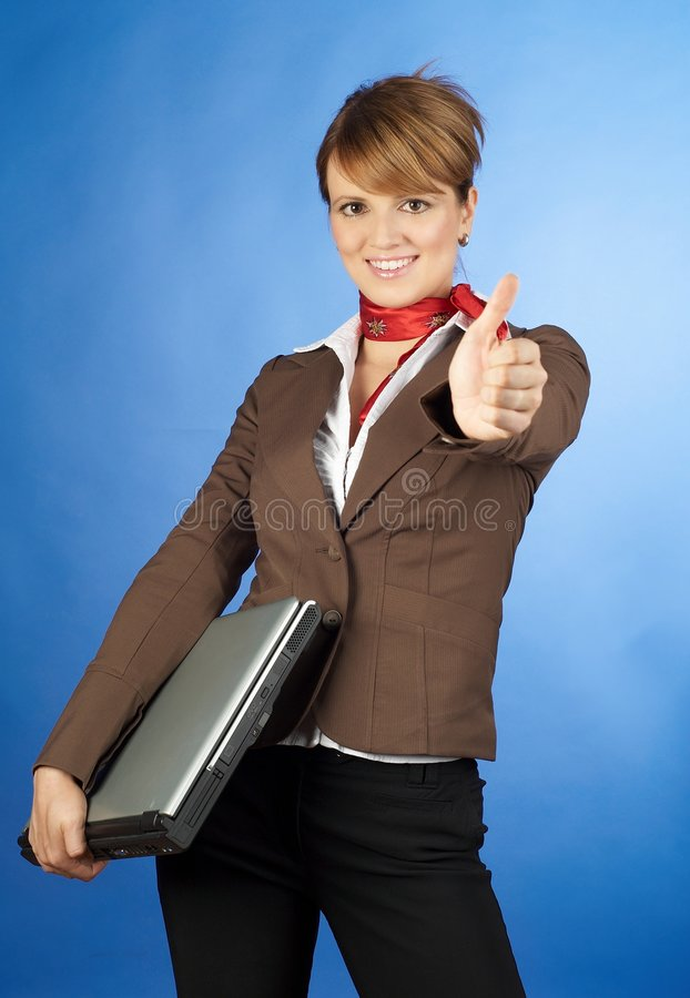 Successfull business stock image