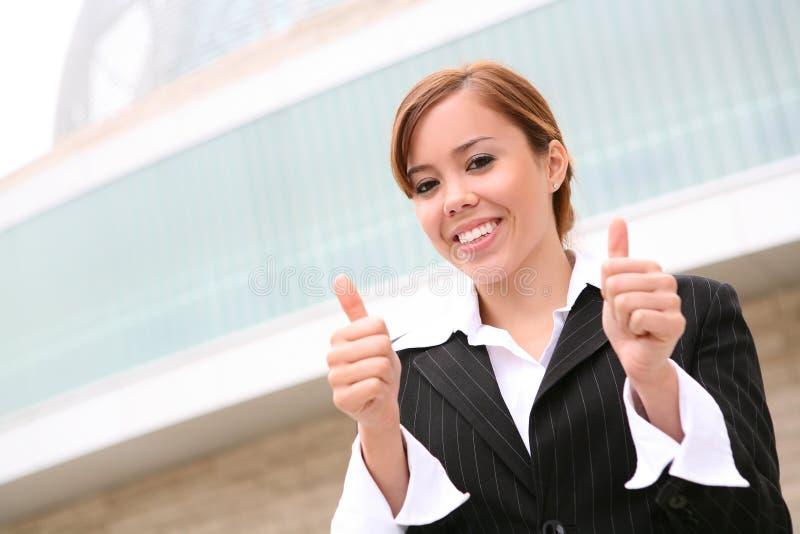 Successo della donna di affari immagini stock