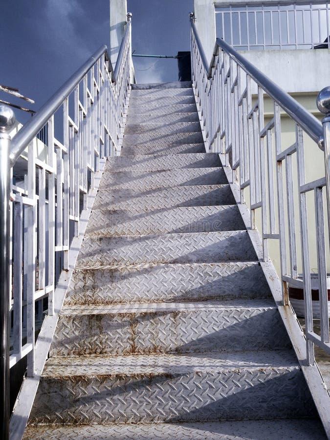 Successo delle scale fotografie stock