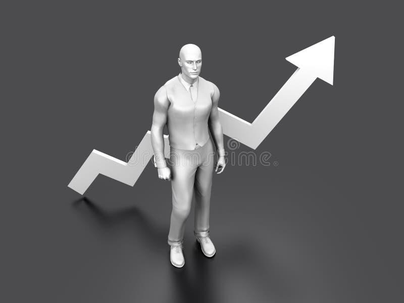Succesvol Beheer stock illustratie