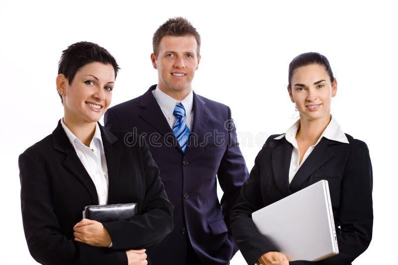 Succesvol commercieel geïsoleerdb team stock afbeelding