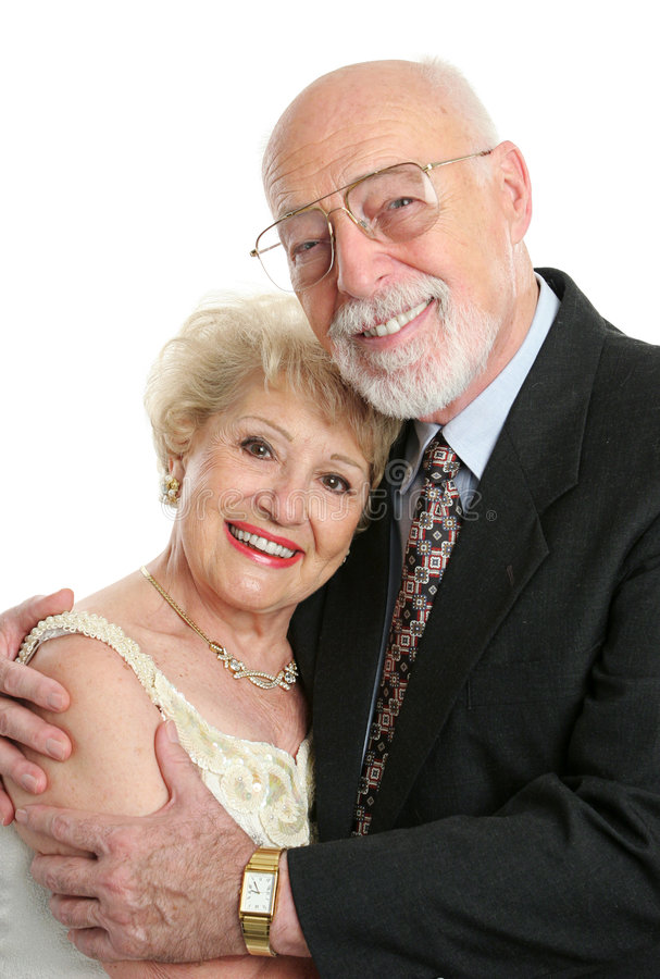 Succesvol Hoger Paar in Liefde stock afbeeldingen