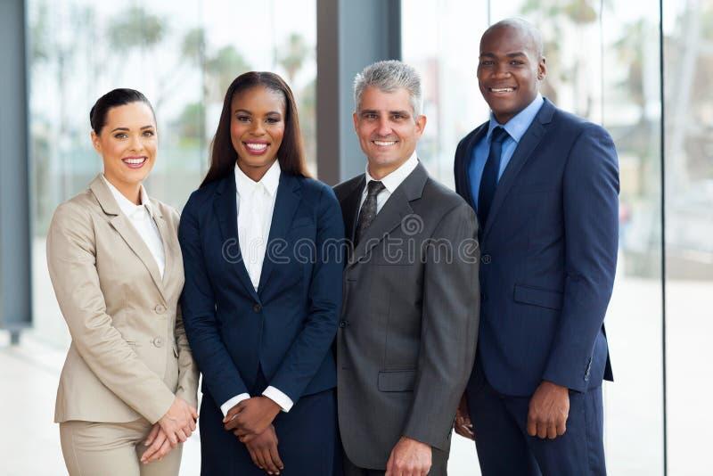 Succesvol zakenluiteam stock afbeeldingen