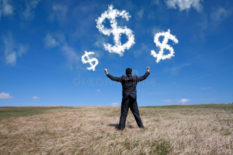 Succesvolle ecologische zaken royalty-vrije stock afbeelding