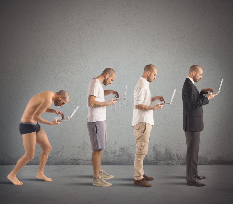 Succesvolle mensenevolutie