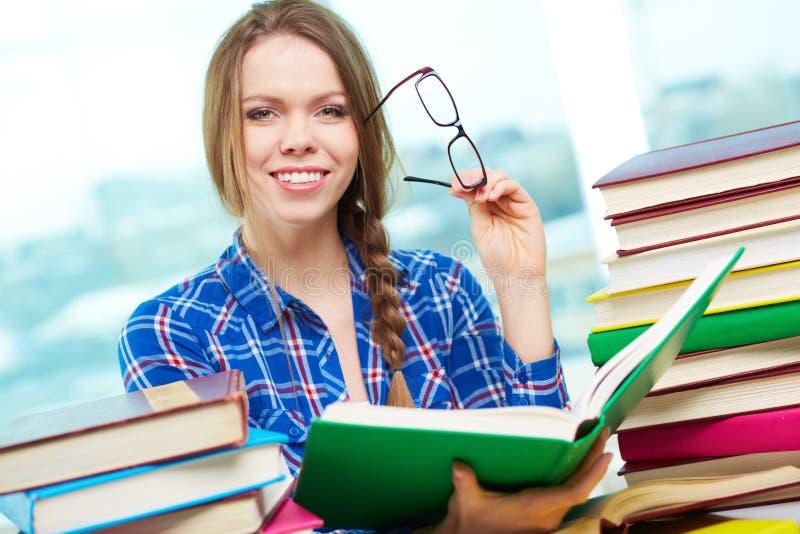 Succesvolle student royalty-vrije stock afbeeldingen
