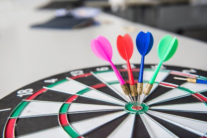 Succesvolle zaken en doelconcept stock afbeelding