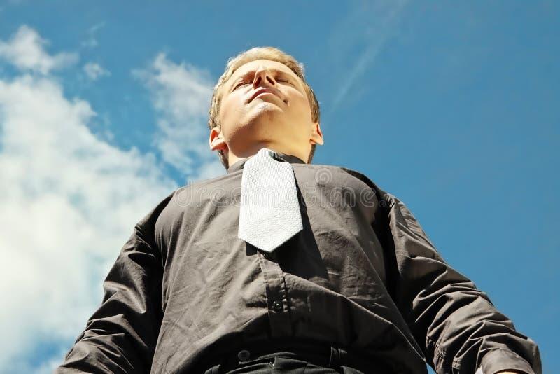 Download Succesvolle zakenman stock foto. Afbeelding bestaande uit vreugde - 10784532