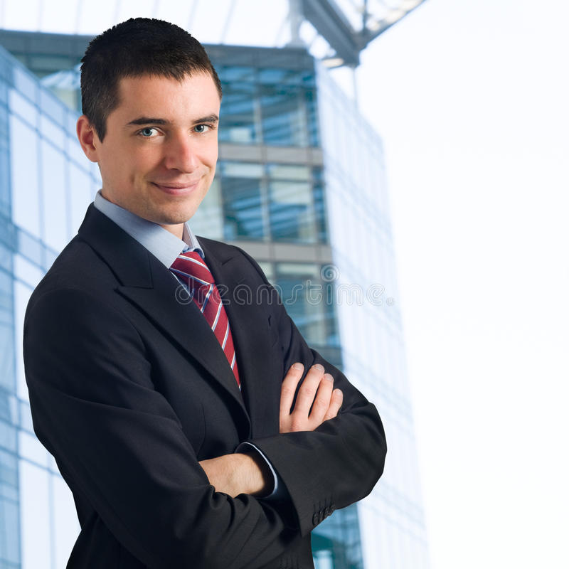 Succesvolle zakenman royalty-vrije stock foto's