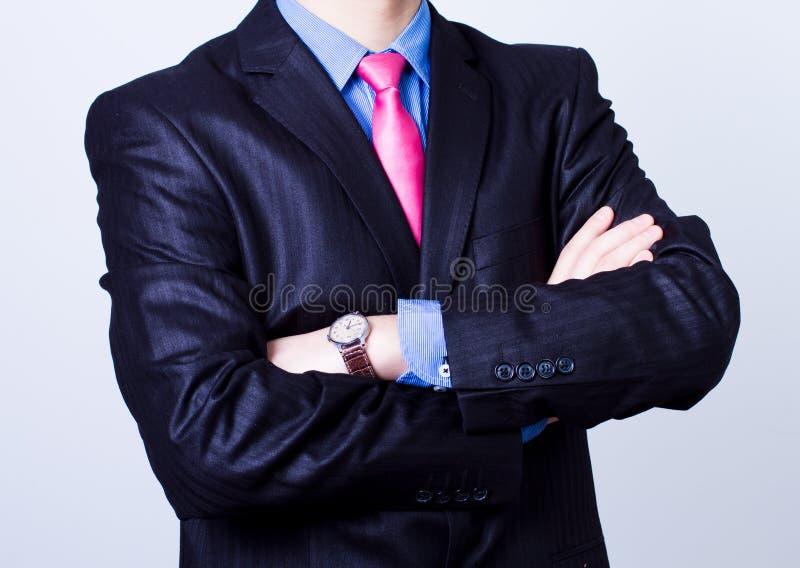 Succesvolle zakenmanhanden stock fotografie