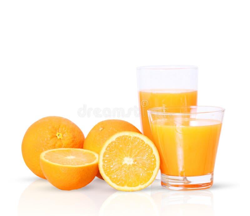 Download Succo d'arancia e fette immagine stock. Immagine di luminoso - 30831439