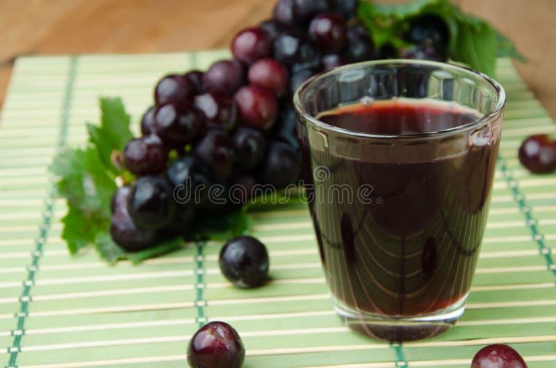 Succo dell'uva fotografie stock