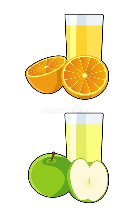Succo di frutta illustrazione di stock