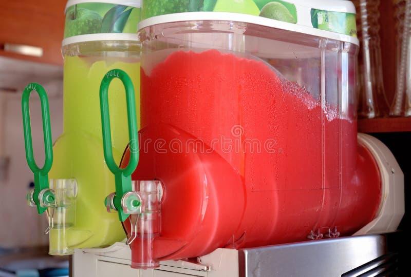 Succo ghiacciato multicolore fotografia stock libera da diritti
