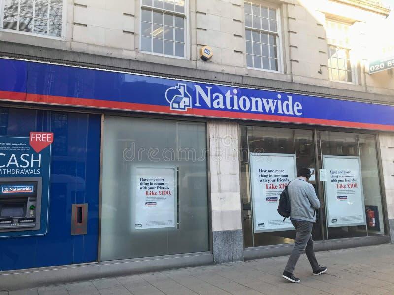 Succursale bancaria nazionale fotografia stock libera da diritti