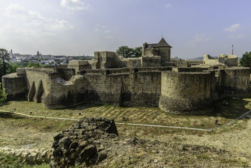 Suceava, Ρουμανία, Ευρώπη, φρούριο στοκ φωτογραφίες με δικαίωμα ελεύθερης χρήσης