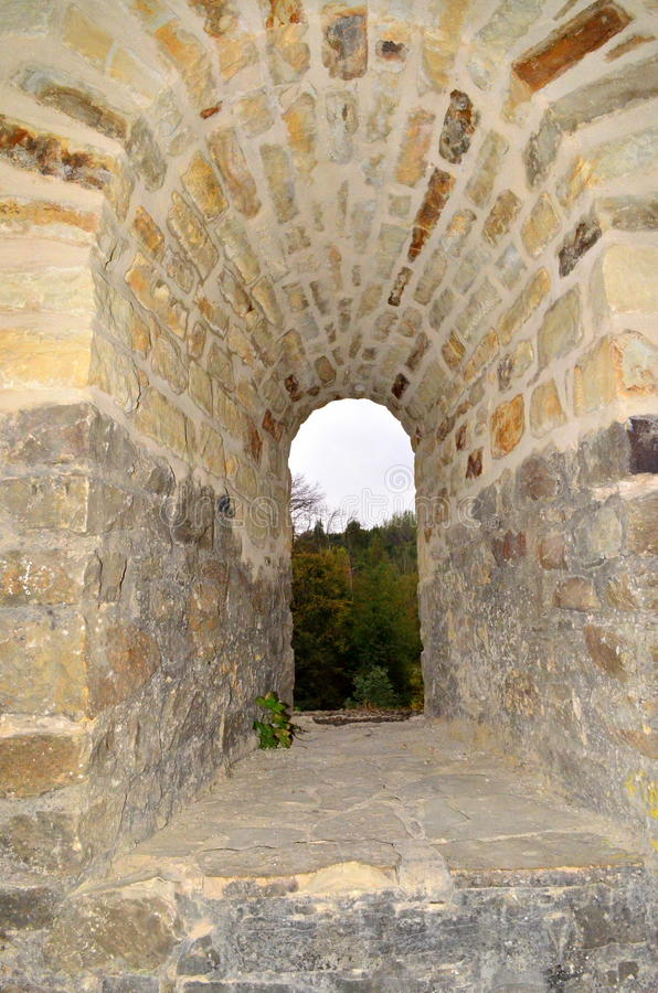 Free Suceava Fortress - Stone Window Royalty Free Stock Photo - 50232235