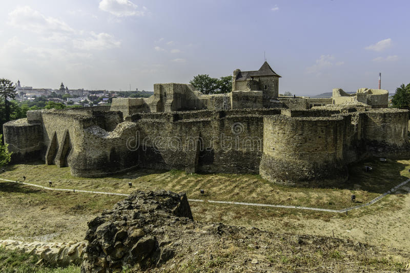 Suceava, romania, Europa, fortaleza fotos de stock royalty free