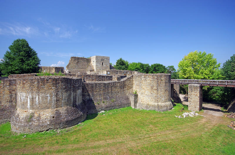 Download Suceava's fortress ruins stock photo. Image of derelict - 20449108