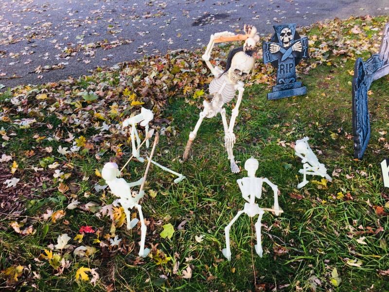 Sucesos de Halloween foto de archivo libre de regalías