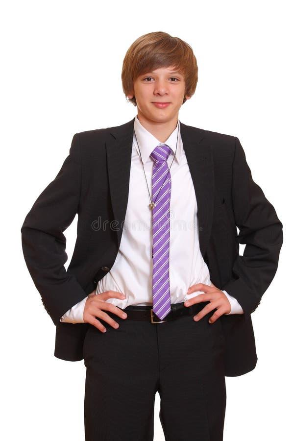 sucessful подросток стоковые фото