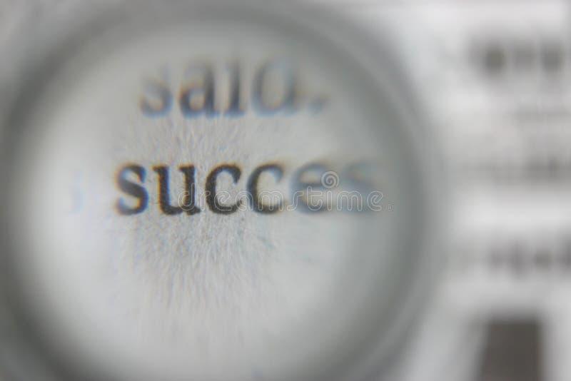 Sucesso imagem de stock