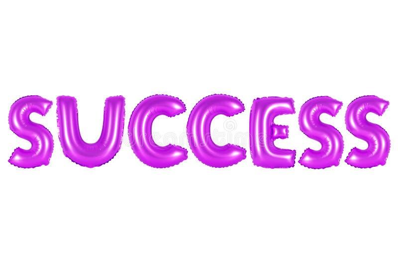 Sucesso, cor roxa foto de stock royalty free