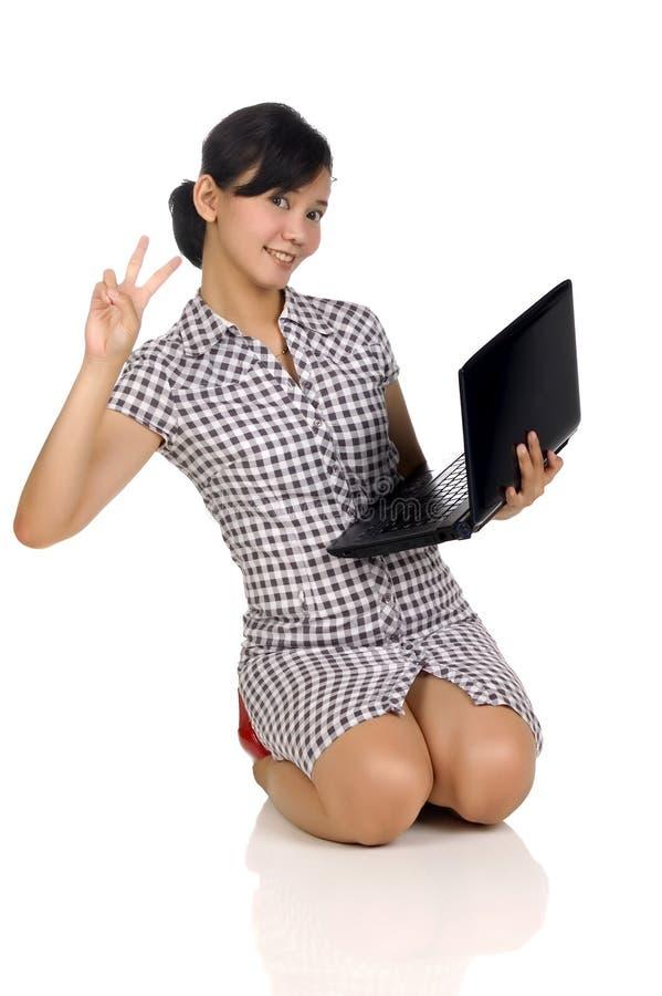 Download Sucesso Da Mulher No Negócio Foto de Stock - Imagem de businesspeople, adulto: 12805682