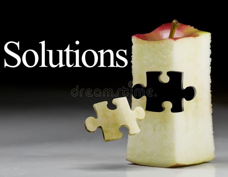 Sucesso da solução; mercado Ap fotografia de stock