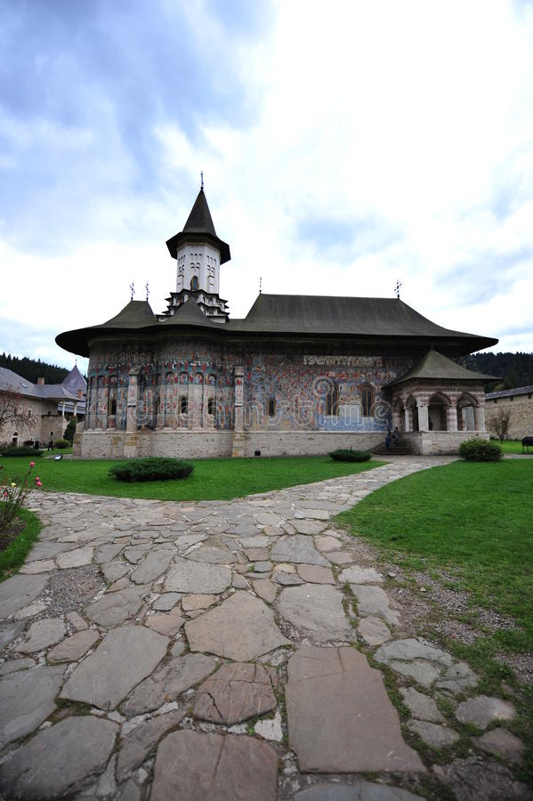 sucevita Румынии скита moldavia bucovina стоковые изображения