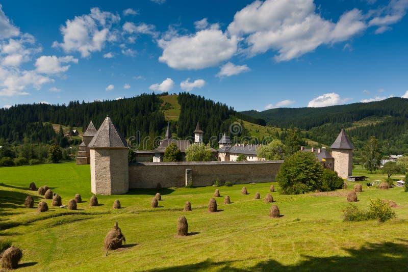 Download Sucevita Monastery In Summer Stock Image - Image: 18410649