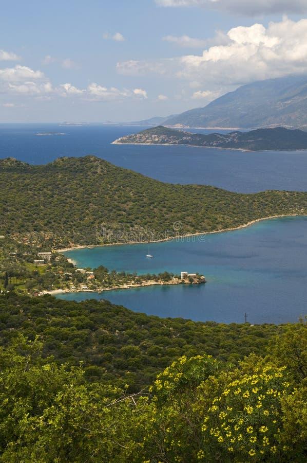 Download Mediterranean - seascape stock image. Image of lush, islands - 30237195