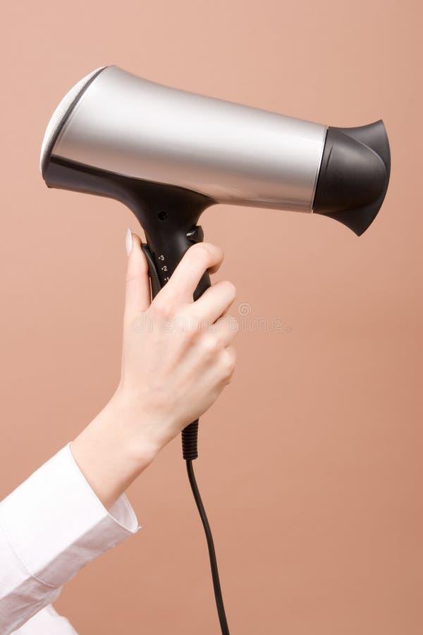 suche włosy ręka fotografia stock
