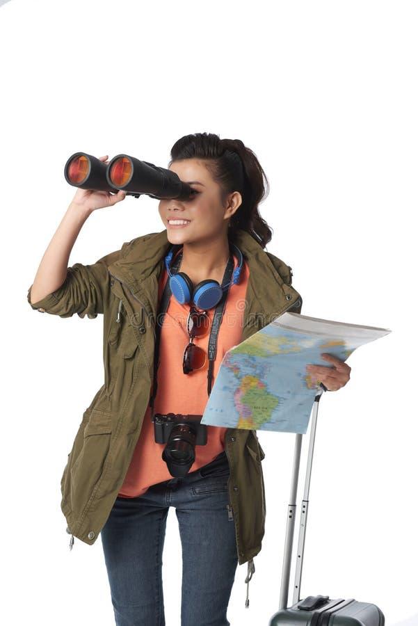 Suchen nach Abenteuern stockbild